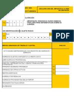 Formulario 102A-SRI-2018