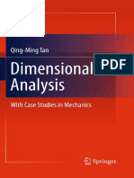004 Qing - Dimensional Analysis - With Case Studies in Mechanics - 2011
