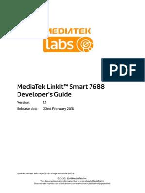 MediaTek LinkIt Smart 7688 Developers Guide V1 1 | Usb | Wi Fi