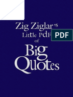 Little Book of Big Quotes Zig Ziglar