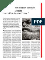 Marx peut-il encore nous aider à comprendre?