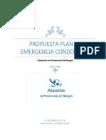 Propuesta Plan Emergencia