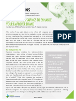 Use Tax Reform Savings To Enhance Your Employer Brand