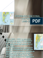 Escenario Nacional Historico 1990-2015