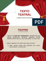 Apresentação1 TEXTO TEATRAL.pptx