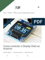 Como Conectar o Display Oled Ao Arduino - FilipeFlop