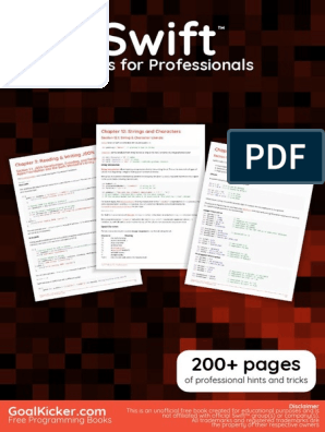 Swift Notes For Professionals pdf | Array Data Structure