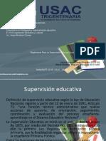 Reglamento Para La Supervision Tecnica Escolar