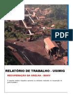 Relatório de Trabalho - Recuperação e Montagem de GRELHA