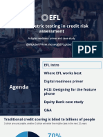 EFL Psychometric Credit Scores
