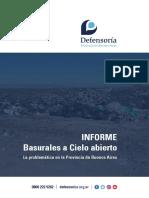 Informe Basurales