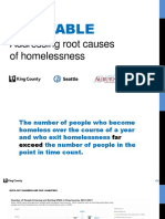 One Table -- Addressing the root causes of homelessness