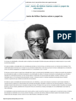 Milton Santos - Os Deficientes Cívicos
