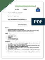 Transformador en Vacío Informe de laboratorio