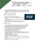 ITSLAM-SF-PR03 Descriptivo de Funciones Guardia de Seguridad