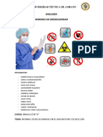 Informe Manual de Bioseguridad en El l