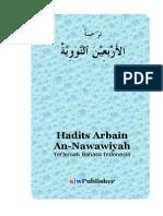 Terjemahan Hadits Arbain Nawawi
