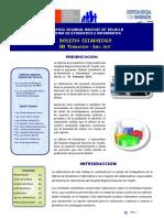 Boletin Estadistica - III - Trimestre 2017