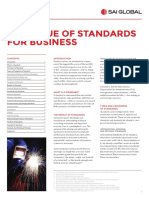 The Value of Standards for Business