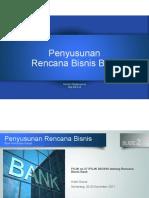 Penyusunan Rencana Bisnis BPR