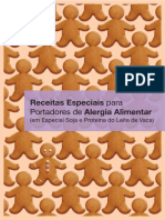 Receitas Especiais Para Portadores de Alergia Alimentar