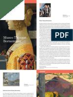 Folleto_Plano Museo Thyssen