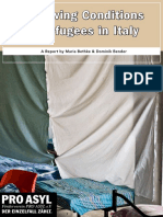 PRO ASYL Report Living Conditions of Refugees in Italy Feb 2011