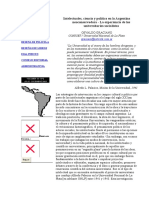 Graciano Osvaldo_Intelectuales, Ciencia y Política en La Argentina Neoconservadora - La Experienc