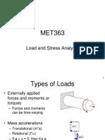 MET363 01 Load & Stress Analysis