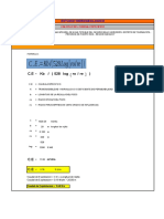 Caudal Especifico is(1)
