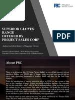 PSC Superior Glove Range 2018 - INR Pricing Version