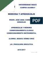 Aprendizaje y Memoria (1)