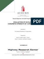 Evaluationofinplaceconcrete - Coring