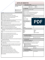 Electrical Risk Assessment Form