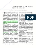 Growth and Development of the Dental Arches in Children