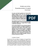El Doble Rostro de Dios MB Massimo Borghesi