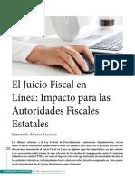 El Juicio Fiscal en Línea - Impacto Para Las Autoridades Estatales