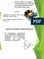 Amplificador Con Integrador