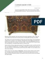Batikdlidir.com-Batik Fabric Tulis Laweyan Popular in Solo