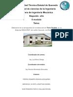 Elaboración de un presupuesto de reconstrucción del Torno Paralelo  en  la   Empresa INDUHORST Cía. Ltda