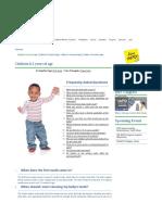 International Association of Pediatric Dentistry_Children 0-2 Years of Age