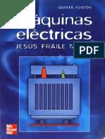 Maquinas Electricas 5ta Edicion by Jesus Fraile Mora