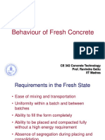 15. Fresh Concrete
