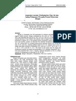 Pengaruh Temperatur Larutan Triethylamine (Tea), Air Dan CA(OH)2 Terhadap Pelepasan CO2 Pada Proses Pemurnian Biogas