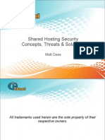 Shared Hosting Security