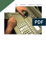 NCR 7766 Proof Machine Training