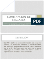 Combinación de Negocios (1)