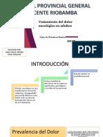 Presentacion Menejo Del Dolor