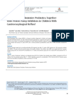 Administer Probiotics Together With Proton Pump Inhibitors