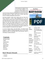 Rust Oleum Wikipedia